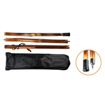 55 Inch Wooden Hiking Stick
