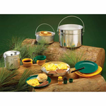 Four-Person Heavy-Duty Aluminum Cook Set