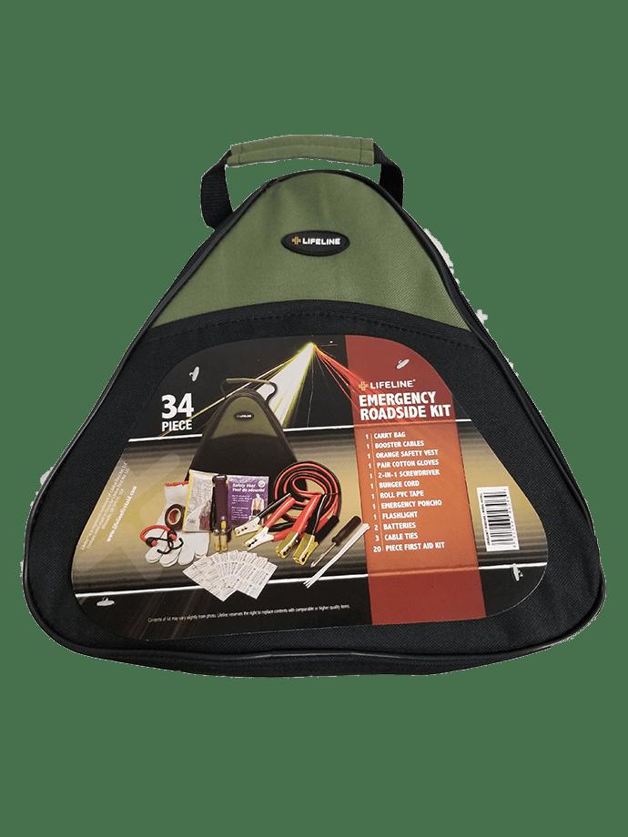 Lifeline - LF4306LL - Emergency Roadside Kit (33 PCS)