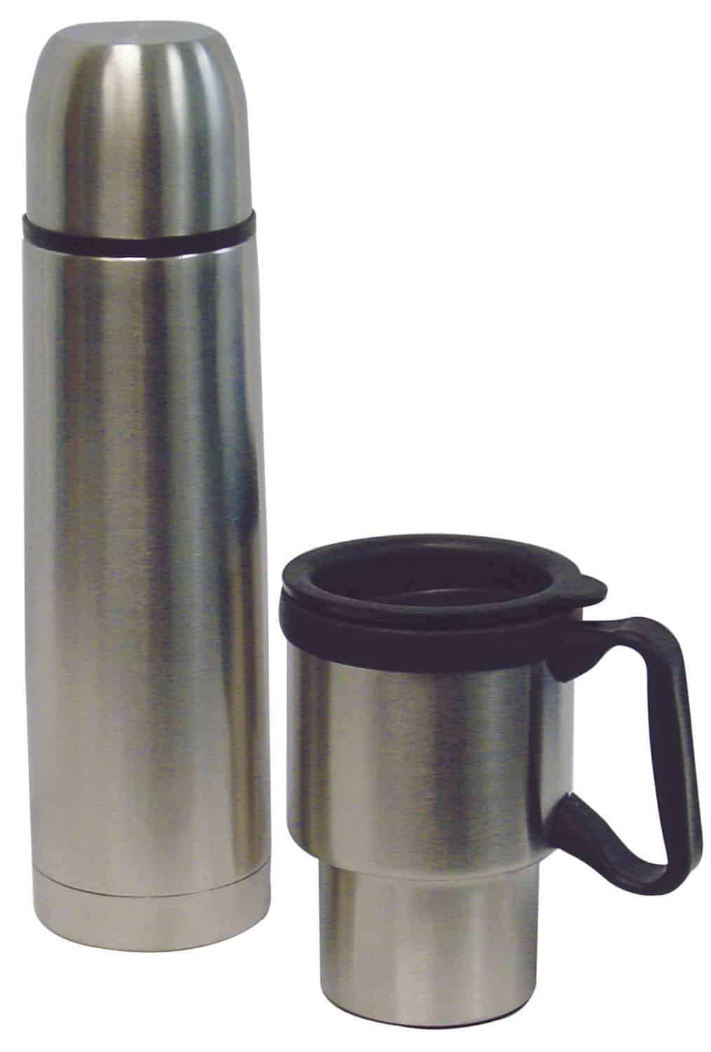 Stainless Steel Travel Mug And Thermal Bottle