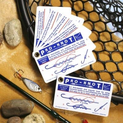 PKF101 - Waterproof Fishing Knots Guide