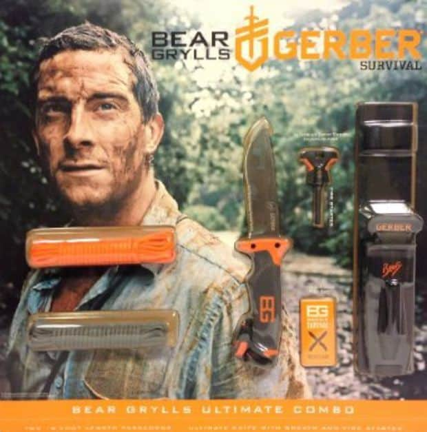 bear grylls ultimate knife  u0026 para cord  bo  rh   wilderness survival gear