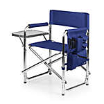 80700639000 - Picnic Time Blue Fusion Sports Chair
