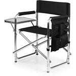 80700679000 - Picnic Time Black Fusion Sports Chair