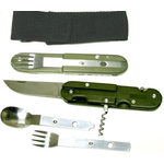 KG605 - Camping  Silverware Set with Knife ,Fork, and Spoon