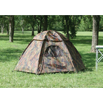 T01113 - Texsport Camouflage Hexagon Dome Tent