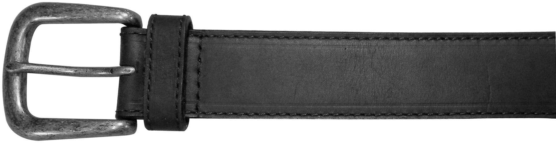 "10625410142 - 42"" Black Plain Field & Stream Leather Belt"