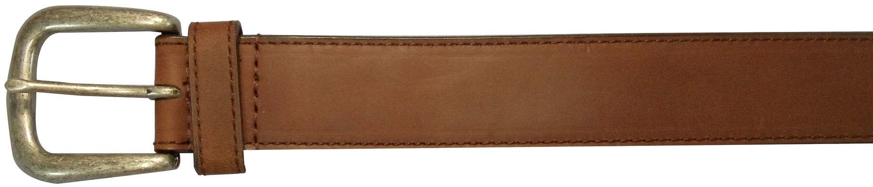 "10625410244 - 44"" Plain Brown Leather Field & Stream Belt"