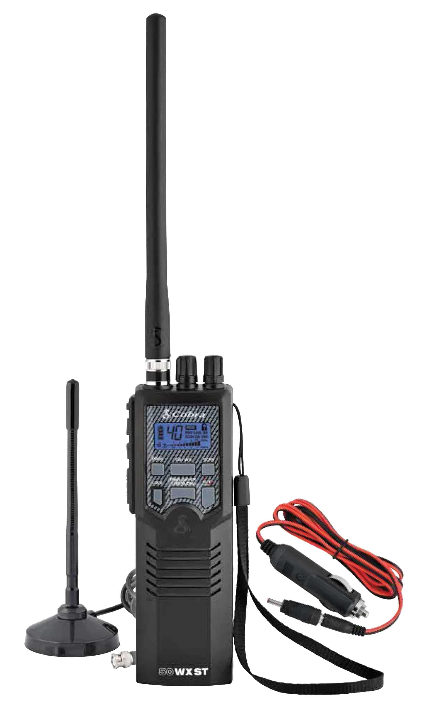 HHRT50 - Cobra® Handheld CB Radio with Weather