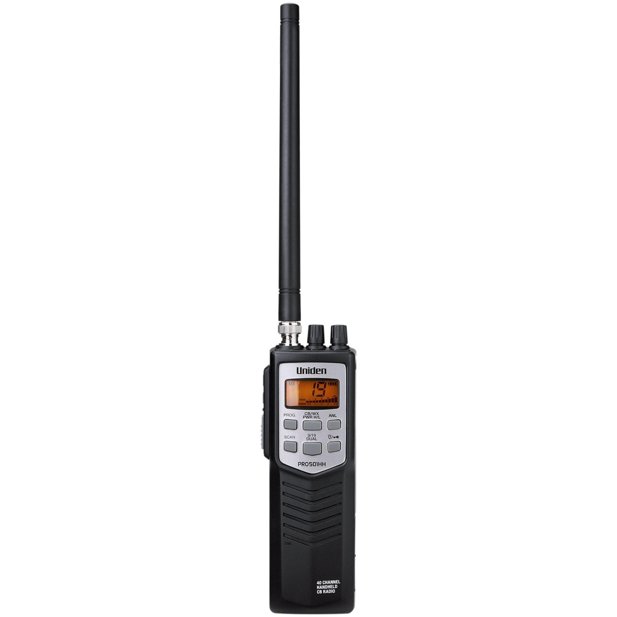 PRO501HH - Uniden Compact 40 Channel Handheld CB Radio
