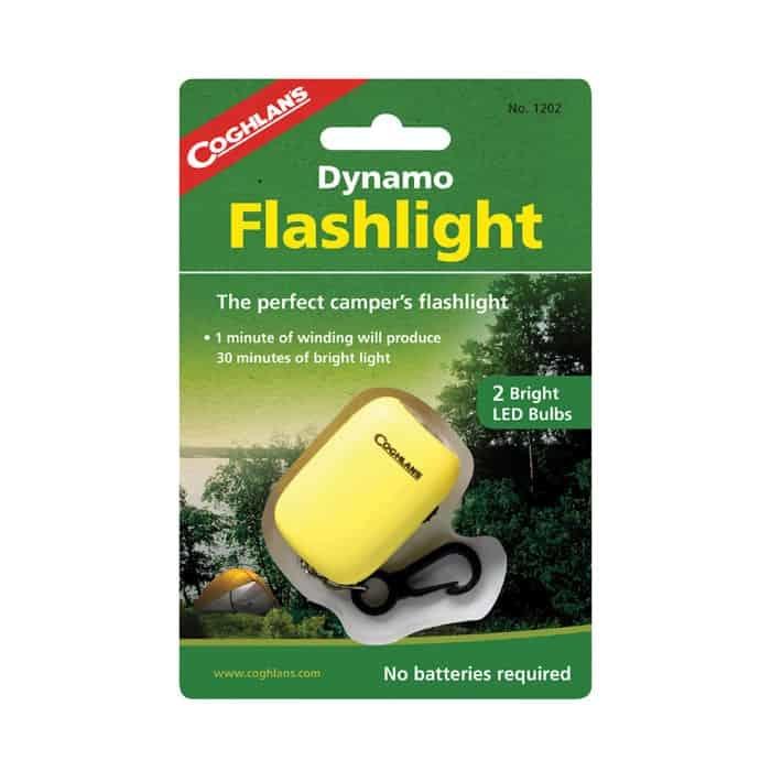 Coghlan's Dynamo Keychain Flashlight