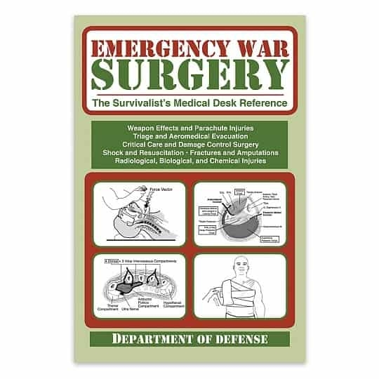 Emergency War Surgery Book