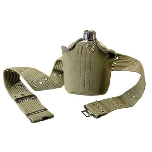 T16390 - Texsport Aluminum Canteen and Belt Set