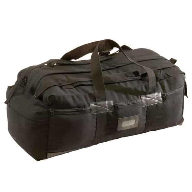 T11882 - Black Canvas Tactical Bags