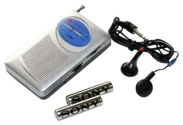 Emergency AM/FM Radio with Headphones