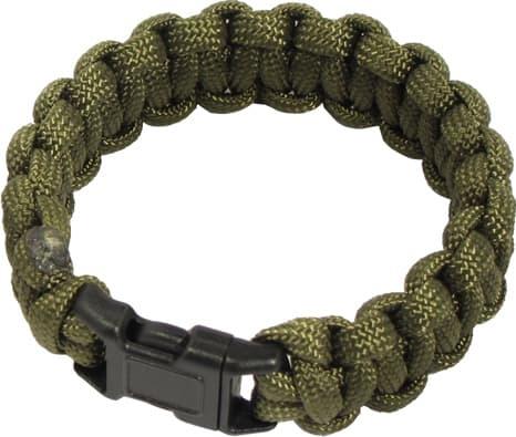 Olive Paracord Bracelet