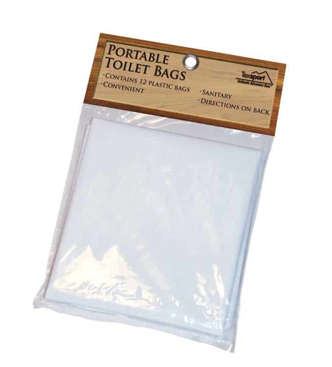 T15120 - Texsport Portable Toilet Replacement Bags