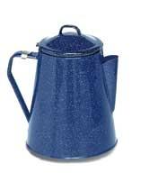 T14515 - Texsport 8 Cup Enamel Coffee Percolator