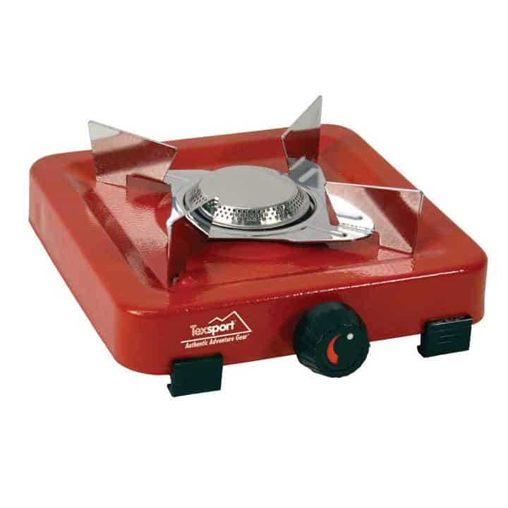 T14204 - Texsport Single Burner Propane Stove