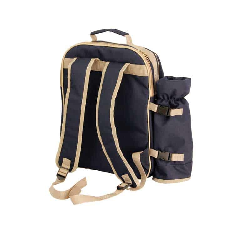 The Winery Picnic Backpack Back
