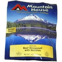 0053119 - Mountain House Beef Stroganoff with Noodles 2 Serving Pouch