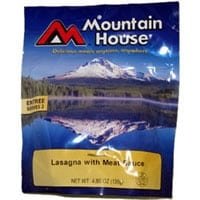 Mountain House Lasagna with Meat Sauce 2 Serving Pouch