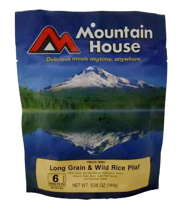 Mountain House Long Grain and Wild Rice Pilaf 2 Serving Pouch
