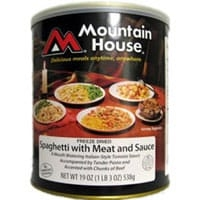 Mountain House Spaghetti with Meat Sauce # 10 can