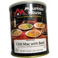 0030128 - Mountain House Chili Mac with Beef #10 Can