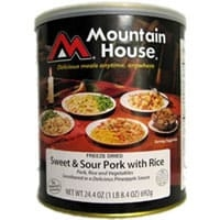 Mountain House Sweet and Sour Pork with Rice #10 can