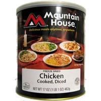 0030142 - Mountain House Diced Chicken #10 Can
