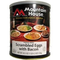 0030447 - Mountain House Scrambled Eggs with Bacon #10 Can