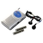 Emergency AM/FM Radio with Headphones